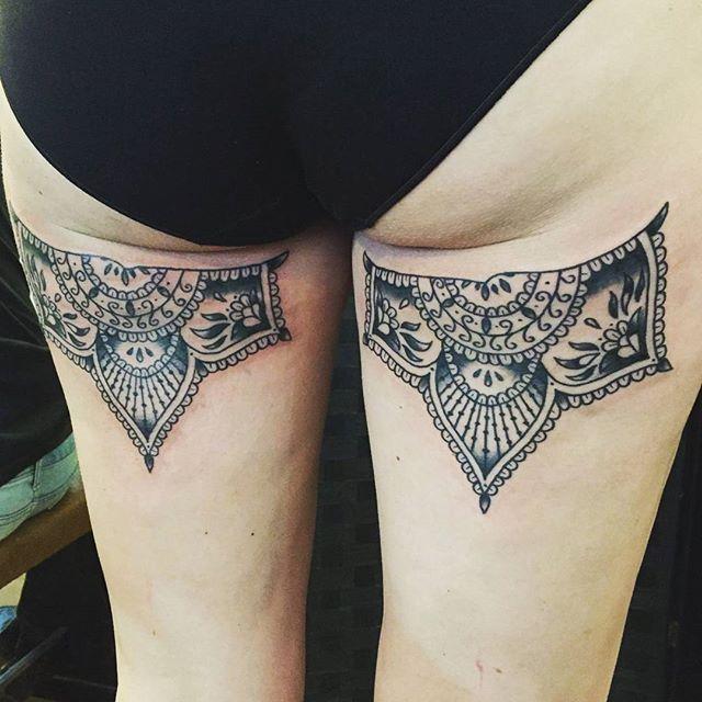 Cute under butt ink by @t.brookstattoos