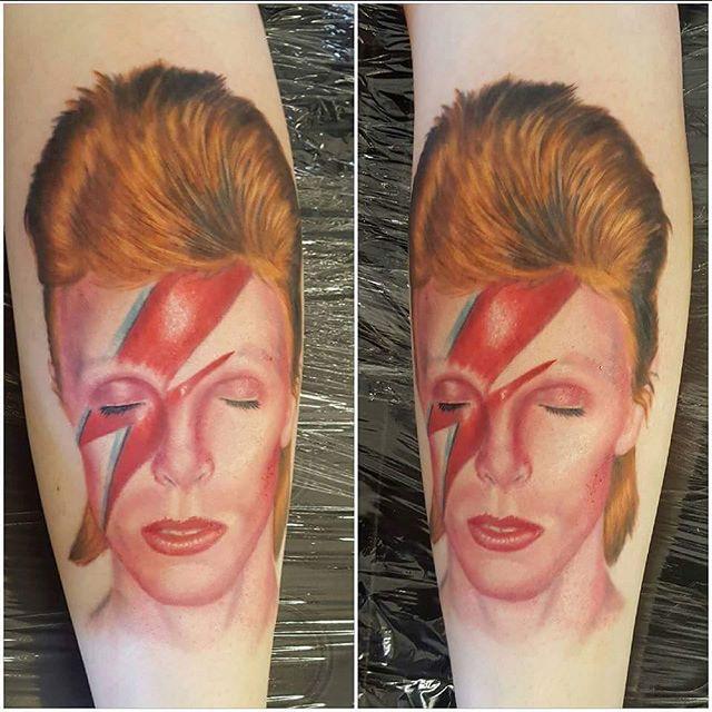 David Bowie finished by @joshhingston11  @bowiegram @davidbowie