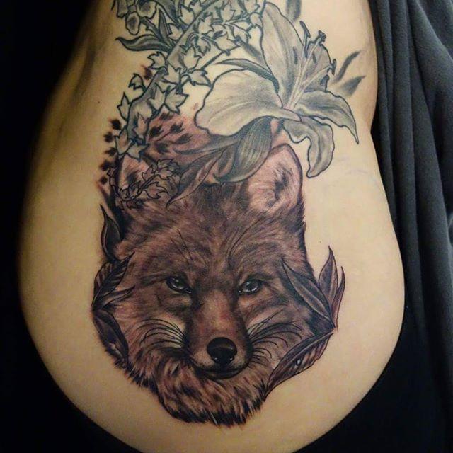 fox in progress