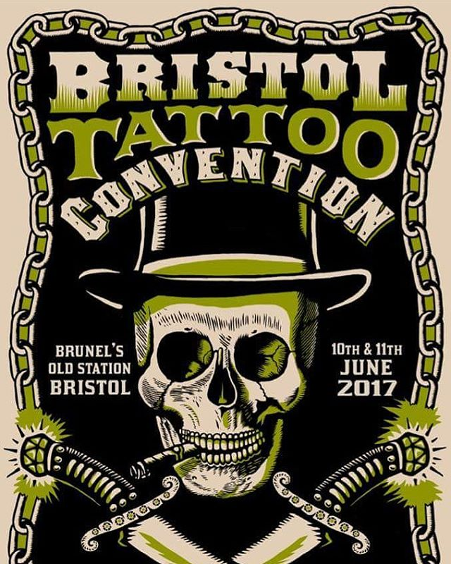 Clients always ask about going to a convention that are actually good espically in the south west. The @bristoltattooconvention to us is one of the few around that is worth attending. No rubbish gimmicks, just good quality tattooing. Get yourself to this show.