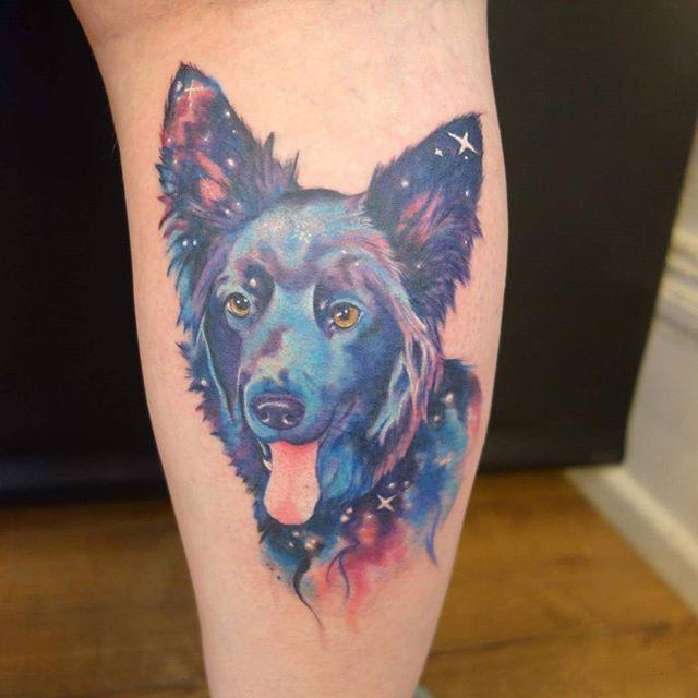 Galaxy dog by @joshhingston11.