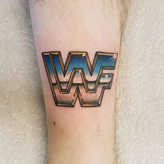 WWF single lined logo by @joshhingston11