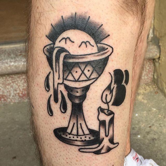 Surreal still life by junior tattooist Josh B @joshoneburg