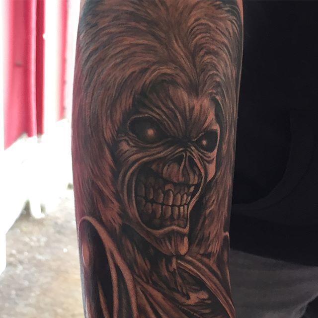 Eddie from Iron Maiden by @joshhingston11